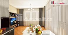 Prodej bytu v novostavbě 2+kk 45m2 , lodžie 7 m2 Praha 8 - Karlín