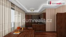 Prodej bytu v novostavbě 2+kk 46 m2 , lodžie 7 m2 Praha 8 - Karlín