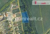 prodej pozemku 2106 m2, Stradov, Chlumec